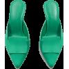 Mango green mules - Klasyczne buty - 60.00€