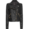 Mango leather jacket - アウター -