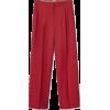 Mango red trousers - Capri hlače -