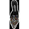 Manolo Blahnik mule in zebra-print - Loafers -