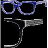 Marc By Marc Jacobs MMJ 462 glasses 0M0I Black White Black - Eyeglasses - $90.99