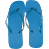 Marc Gold Blue Fashion Flip Flop - Sandals - $4.99