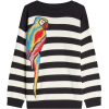 Marc Jacobs Striped Parrot Pullover in W - Pullovers - $137.87