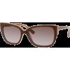 Marc by Marc Jacobs MMJ238/S Sunglasses - 0QX2 Brown Beige (HA Brown Gradient Lens) - 55mm - Sonnenbrillen - $143.64  ~ 123.37€