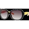 Marc by Marc Jacobs MMJ240/S Sunglasses - 0WEC Black Yellow (JS Gray Gradient Lens) - 58mm - Sunčane naočale - $117.27  ~ 100.72€