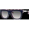 Marc by Marc Jacobs MMJ293/S Sunglasses - 07V5 Blue Red White Red (JJ Gray Gradient Lens) - 53mm - Occhiali da sole - $151.82  ~ 130.40€