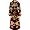 MarcJacobs Embroidered Floral Trenchcoat - Kurtka -