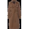 Marc Jacobs brown wool trenchcoat - Jacket - coats -