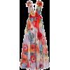 Marchesa Floral dress - Vestidos -