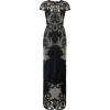 Marchesa Notte Ivory Embroidered Gown - Dresses -