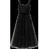 Marchesa Notte Silver Star Tulle Dress - Vestiti -