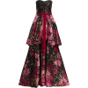 Marchesa Notte Strapless Tiered Gown - Dresses - $1,290.00