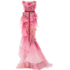 Marchesa Ombre Tiered Silk Organza Gown - Dresses - $11,995.00