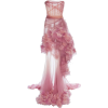 Marchesa - Ombre tiered gown - Vestidos -