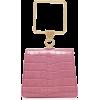 Marge Sherwood Mini Pump Croc-Effect Lea - Hand bag -