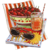 Cherries in the summer - Illustraciones -