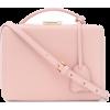 Mark Cross Pink Bag - Torebki -
