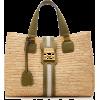 Mark Cross Riviera Medium Leather-Trimme - Messaggero borse -