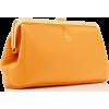 Mark Cross Susanna Leather Frame Clutch - Bolsas com uma fivela -