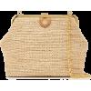 Mark Cross Susanna Raffia Shoulder Bag - Hand bag -