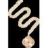 Marlo Laz Guiding Light 14K Gold Sapphir - Earrings -