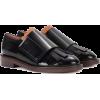 Marni Glossed Leather Oxford Loafer - Klapki - $830.00  ~ 712.87€