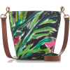 Marni Depot Printed Cotton And Leather T - Torby posłaniec -