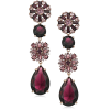 Maroon earrings - イヤリング -