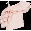 Marques Almeida Assymetric Ruffled Top - Majice bez rukava -