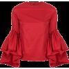 Marques Almeida Ruffled Sleeve Top - Camicie (lunghe) -