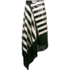 Marques Almeida striped sequin skirt - Spudnice -