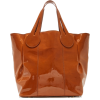 Marvais Theo Cognac Tote - Messenger bags - $700.00