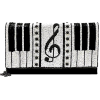 Mary Frances 'Keyed Up' Piano clutch - Clutch bags -