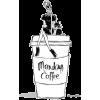 Megan hess coffee illustration - Ilustracije -