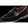 Men Black Velvet Party Penny Loafer Slip - Mokasine - $199.00  ~ 170.92€