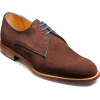 Men Brown Suede Leather Shoes with Laces - Classic shoes & Pumps - $199.00