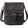 Men Genuine Leather Casual Solid Cross-b - Messenger bags - $79.99