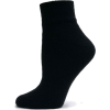 Mens Ankle Quarter Cotton Performance Sports Athletic Socks - 12 PAIRS - Colors Available Black - Biancheria intima - $17.99  ~ 15.45€