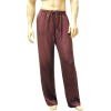 Mens Classic Silk Pajama Pants Port - Piżamy - $82.99  ~ 71.28€