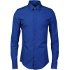 Men's blue shirt - Shirts -