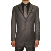 Men's brown tuxedo suit (La Promenade) - Suits - $399.00