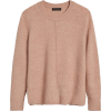 Merino-Blend Boxy Sweater - Puloverji - $89.50  ~ 76.87€