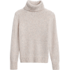 Merino-Blend Boxy Turtleneck Sweater - Pullovers - $98.50  ~ £74.86