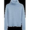 Merino-Blend Boxy Turtleneck Sweater - Maglioni - $98.50  ~ 84.60€