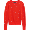 Merino-Blend Puff-Sleeve Sweater - Puloverji - $79.50  ~ 68.28€
