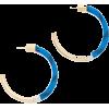 Metal Hoop Earrings - ベルト -