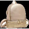 Metallic Backpack Gold - Backpacks - $55.00