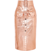 Metallic Midi Skirt - Skirts -