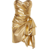 Metallic Dress - Dresses -