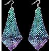 Metme Women's Vintage Style Crystal Simulated Pearl Chandelier Dangle Earrings - Brincos - $11.99  ~ 10.30€